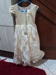 Vestido de festa infantil 6a8 anos