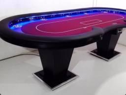 Mesa de Poker Profissional - 11 lugares + Dealer