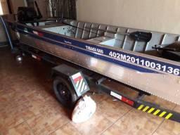 Barco borda alta reforssado plataforma - 2011