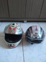 Vendo dois capacetes Helt