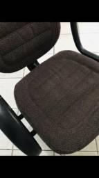 Cadeira em tecido