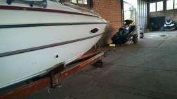 Barco lancha hd 7.9 27 pes - 2000
