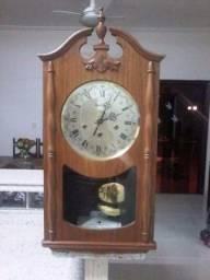 Antigo relógio de parede reguladora carrilhão 2 melodias