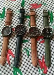 Relógios Masculinos Luxo Couro