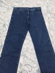 Calça Jeans 44 + Cinto G