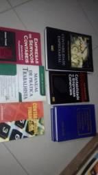 Livros de contabilidade novos