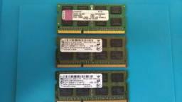 Memória DDR3 4GB para notebook
