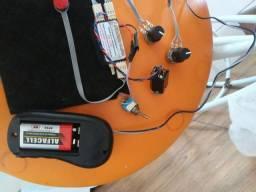 Captação ativa eletrificação acordeon