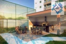 Apartamento com 3 dormitórios à venda, 68 m² - Benfica - Fortaleza/CE