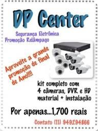 Kit câmeras mais instalação