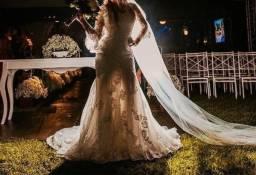 Vestido de Noiva - Rosa Clará (Paula Boulanger)