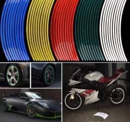 Pacote de Fitas Refletora motos e carros