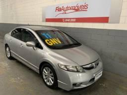 Honda Civic LXS 1.8 Completo+GNV Automatico //Financio sem entrada