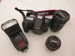Câmera Canon 60D,  estado de nova