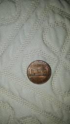 Moeda 1 centavo de 1973  fabricado nos Estados unidos