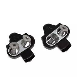 Taquinhos tacos pedal clip sapatilha mountain bike mtb