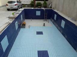 Procuro quem faça piscina de alvenaria