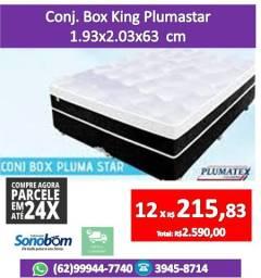 Conjunto Box King Molas Pocket! Cama