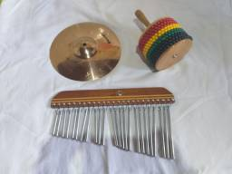 Mini Set de percussão. Pra vender logo!!!