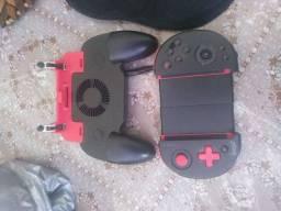 Vendo controle bluetooth e controle com gatilhos para jogar free fire e outro jogos