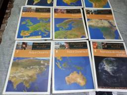 Mapa geográfico do mundo completo
