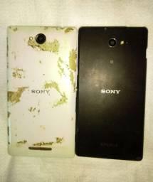 Sony xpereria m2 e c2304 para retiradas de peça