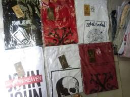 Camisetas Premium 100% algodão