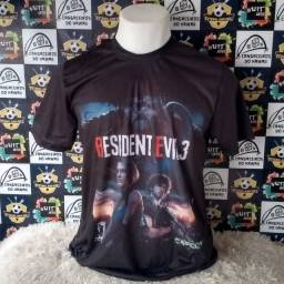 Camisa resident evil 3 remake