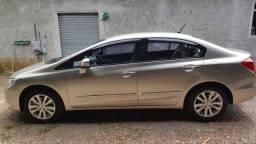 Honda Civic LXL 2012 - Impecável - segundo dono