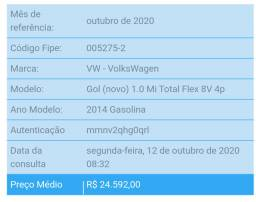 Gol G6 itrend 1.0 completo