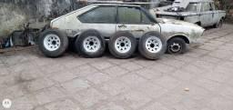 4 Rodas Daytona com pneus