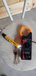 Detector de tensão pouco tempo de uso