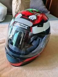 Jaqueta + capacete
