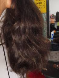 Peruca wig cabelo humano.