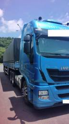 Caminhao iveco hiway 440 6x2 completo ano 18/19