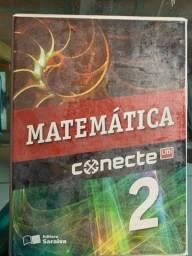 Vendo livro CONECTE MATEMÁTICA  VOL2