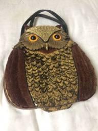 Bolsa estilosa de coruja ?