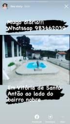 Alugo diária!!! Fica em Vitória de Santo Antão ao lado do bairro nobre
