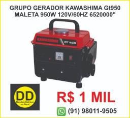 Grupo Gerador Kawashima GT950 Maleta 950w 120v/60Hz