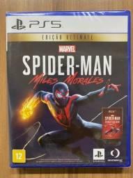 Marvel'S Spider Man Miles Morales Edição Ultimate Lacrado