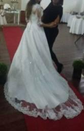 Vestido de casamento em ótimo estado