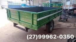 Carreta agrícola 4 toneladas nova