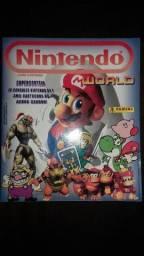 Álbum Nintendo World Panini (com poster) - 1996