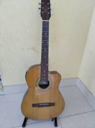 Violão Giannini Elétrico cordas Nylon