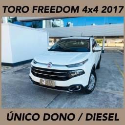 Fiat Toro Freedom 2.0 Turbo Diesel 4x4 - Mecânica - Único Dono - 2017
