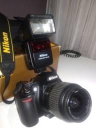 Câmera Nikon D3100 troco por notbook