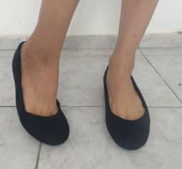 Sapatilha preta tamanho 38
