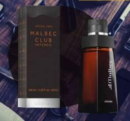 Malbec Club Intenso O Boticário Desodorante Colônia novo