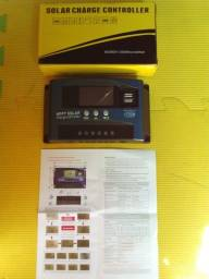 Controlador de carga solar digital 40a mppt