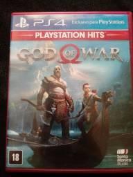Vendo jogo GOD of WAR. Para PS4.